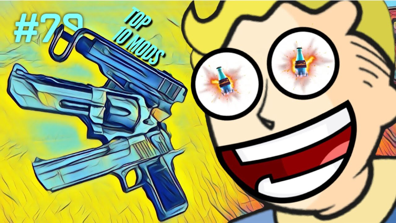 TOP 10 FALLOUT 4 WEAPON MODS - PS4 Fallout 4 Mods #79