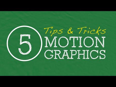 5 Motion Graphics Tips & Tricks for Beginners - Apple Motion 5