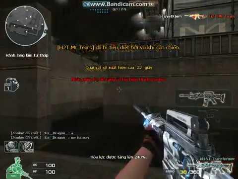 [CFVN] Săn zombie 4 vs M4A1 Vip