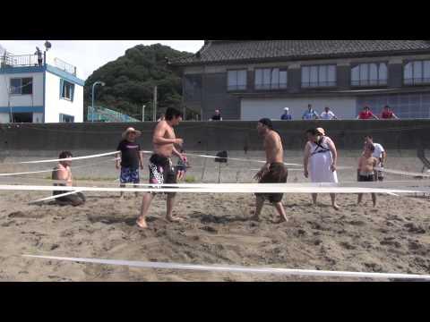 2013 07 15谷浜海水浴場マッチ第二試合