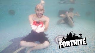 لعبنا سوني تحت الموية ( فورت نايت ) !!