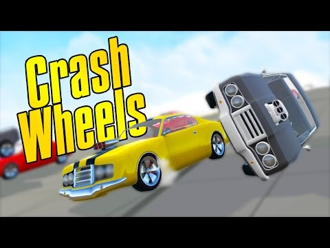 Extreme Arcade Racing! - Crash Wheels Gameplay