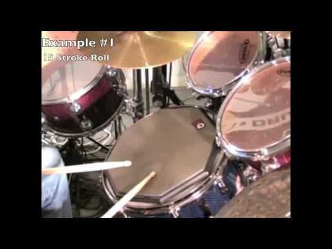 15 Stroke Roll - Drum Lesson - Drummer Connection
