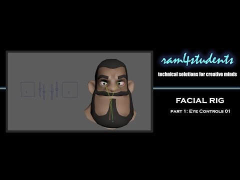 FacialRig-Part 1: Eye Controls 01