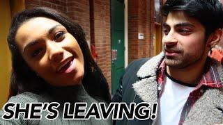 ZamanBites - SHES LEAVING!!
