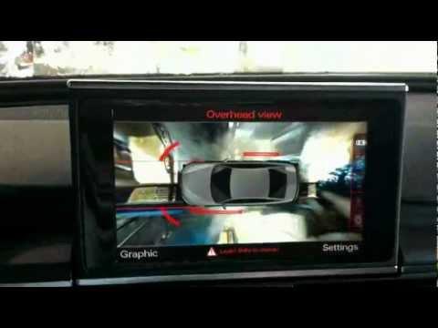 Audi Top View Camera Taken Through Car Wash (reuploaded)...