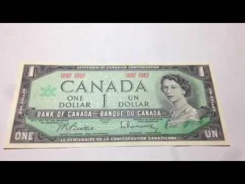Canada One Dollar: 1967
