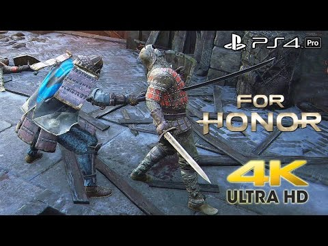 For Honor - 4v4 Dominion Beta 4K Gameplay (PS4 Pro) @ 2160p HD ✔