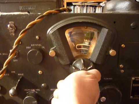 RADIO RECEIVER BC-348-0