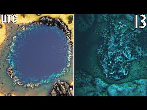 Meteor Impact! Ark Ragnarok Crater Island :: Ragnarok Explorers Club w/ Arahli + Witman :: Ep. 13