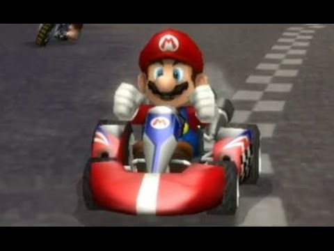 Mario Games Racing Car