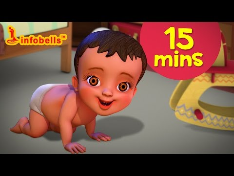 download சாய�ந�தாடம�மா and more | Tamil Rhymes & Baby Songs Collection | Infobells