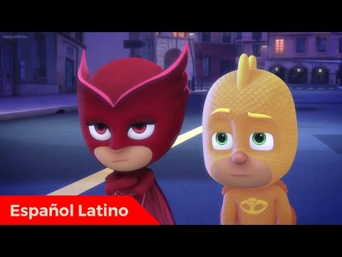 Pj Masks heroes en pijamas en español latino episodio 9 Catboy y la brigada mariposa