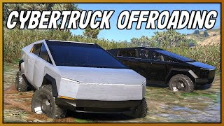 GTA 5 Roleplay - Tesla Cybertuck Offroading Ride Out | RedlineRP #801