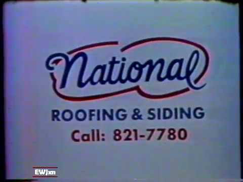 1985 National Roofing & Siding New Orleans local TV Commercial