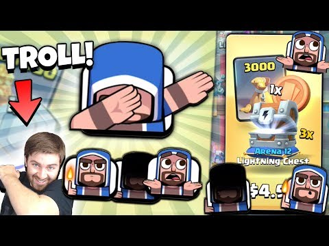 TROLLING w/ NEW WIZARD DAB EMOTES FAIL! NEW EMOTE GAMEPLAY! | Clash Royale NEW TROLL DECK & EMOTES!