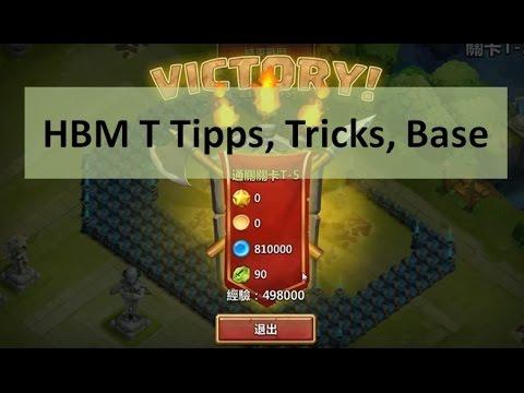CC #14 HBM T - Tipps, Tricks, Base By Hunted Castle Clash Taiwan Server