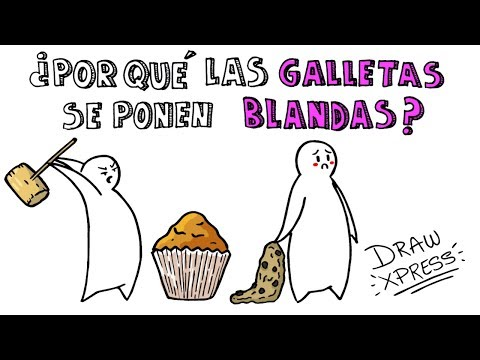 Download Youtube: ¿POR QUÉ LAS GALLETAS SE PONEN BLANDAS Y LAS MAGDALENAS DURAS? 🍪 | DrawXpress
