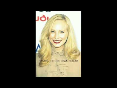 Candice Accola welcome to the real world