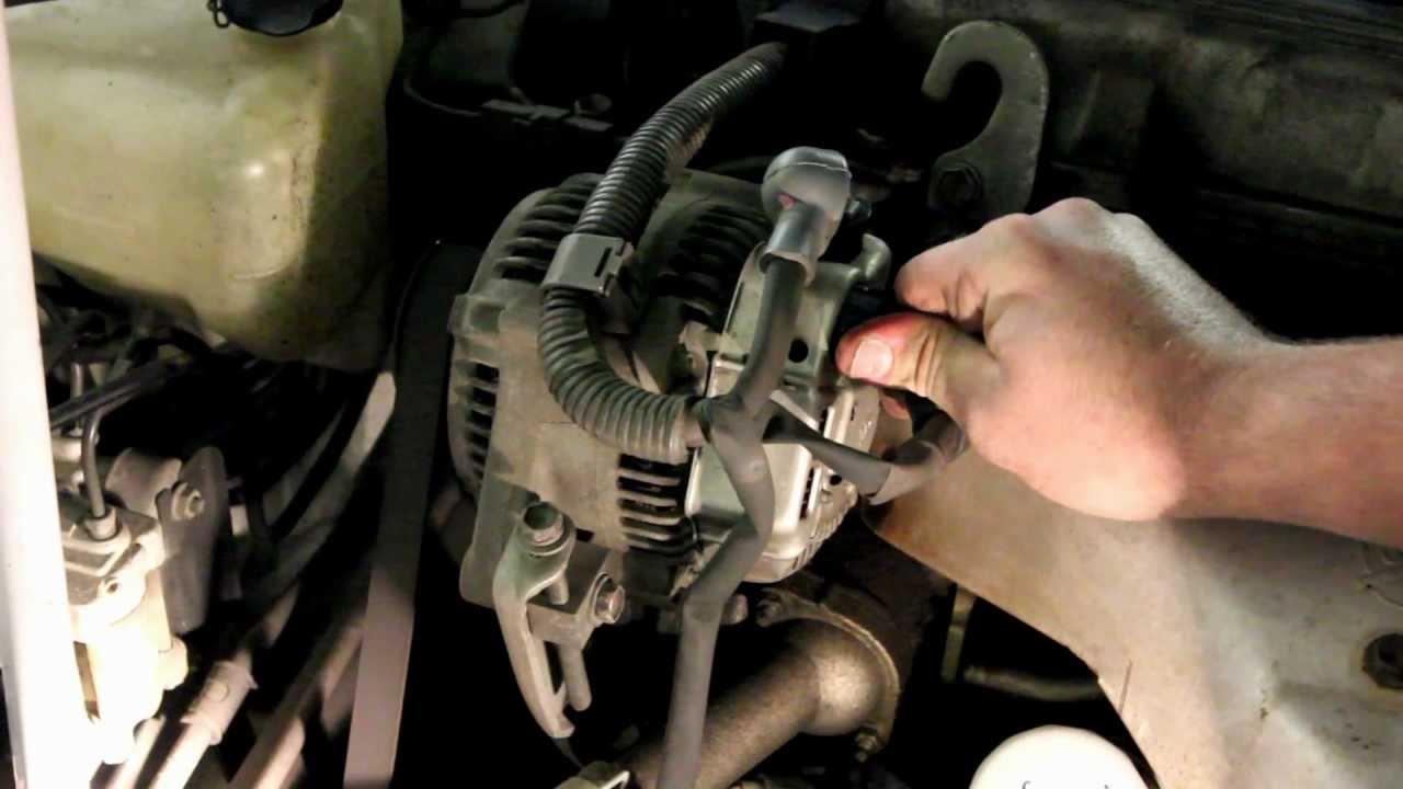 Toyota Alternator Replacement  YouTube