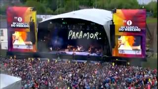 Paramore Still Into You Live At BBC Big Weekend