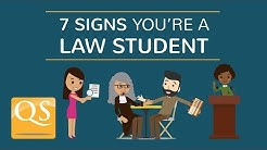 7 Signs You're a Law Student