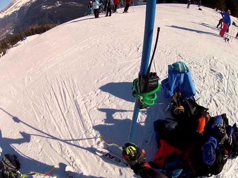 Ski training in Chamonix France
