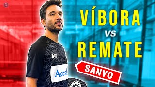 TEST a SANYO: ¿REMATE MEJOR QUE VÍBORA? *WORLD PADEL TOUR 2021 CARTAS* - el4Set