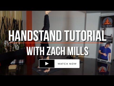 Handstand Tutorial with Zach Mills
