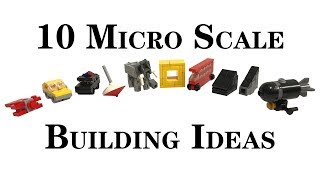 Top 10 Easy Micro Lego Scale Building Ideas Anyone Can Make (3)