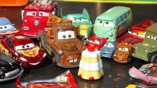 Pixar Cars Kinder Surprise Egg Maxi for Maters Surprise Birthday Party with Lightning McQueen