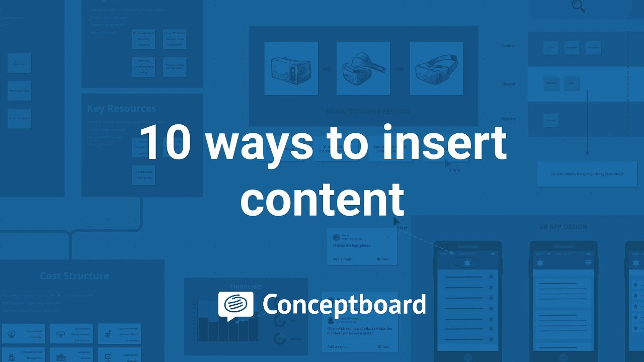 10 ways to insert content