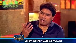 Atal Bihari Vajpayee's superb mimicry by Johney Lever     #DeshiJhumroo