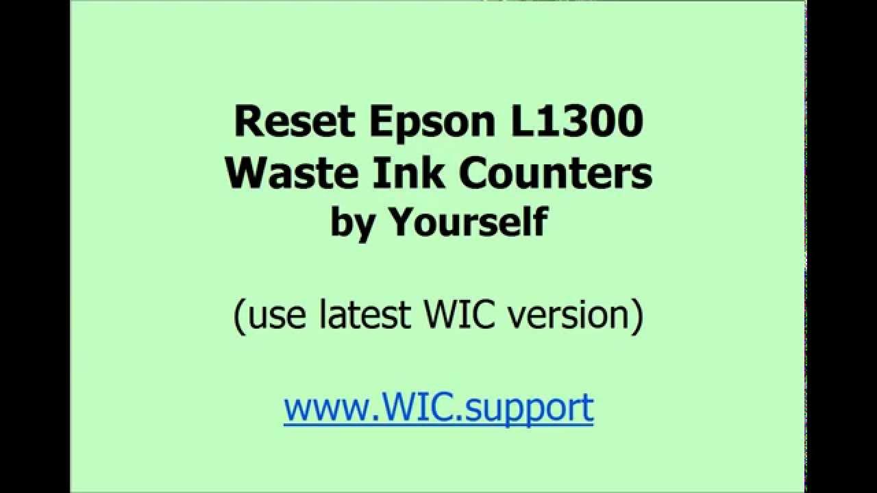 Epson l120 Resetter Full version Rar password