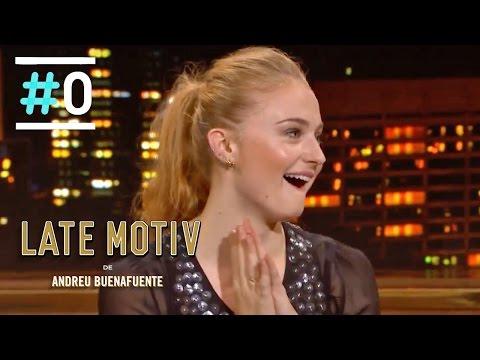 Late Motiv: Entrevista a Sophie Turner (Sansa Stark) #LateMotiv93   #0