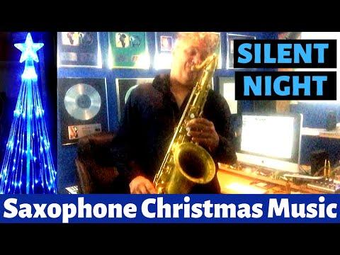 Silent Night - Saxophone Music & Backing Track