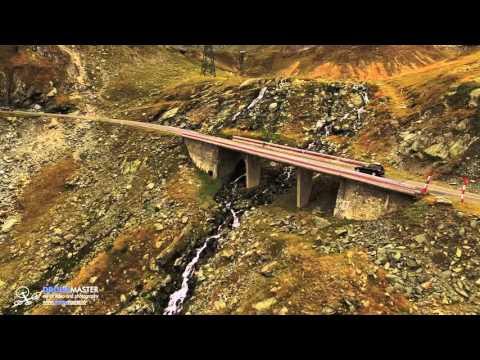 Transfagarasan Highway - 4K aerial video with breathtaking moments