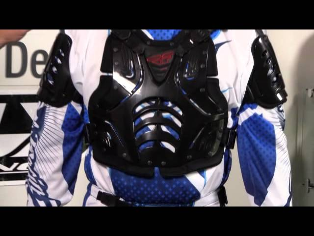 Black Fly Racing Convertible II Roost Deflector
