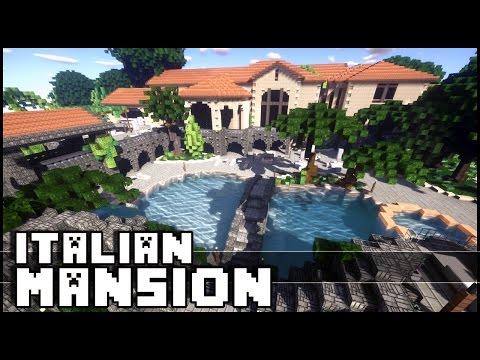 Minecraft - Epic Italian Mansion