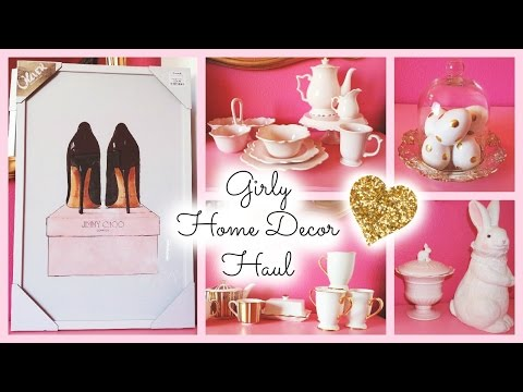 Home Decor Haul Part 1 ♡ HomeGoods, TJ Maxx, Marshalls, & Hobby Lobby