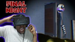 Final Nights | FNaF Fan-Game | Oculus Rift DK2 Horror Game