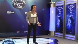 [Vietnam Idol 2012] Tô Mạnh Quân - Thí sinh nói ngọng làm NS Quốc Trung nổi giận