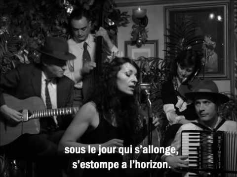 Nuages - Django Reinhardt - Fleur de Paris with Lyrics/Paroles.