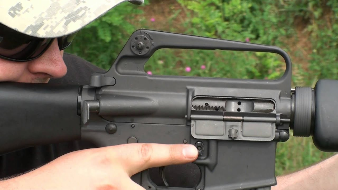 M16a1 Shooting The Original Vietnam Era Ar 15 Rifle G S Hd Gun