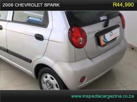 2006 Chevrolet Spark Youtube