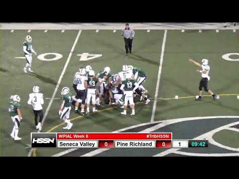 WPIAL Football - Seneca Valley at Pine-Richland