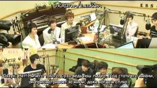 [РУСС.САБ] 120507 EXO-K - Sukira 'Kiss The Radio' with SuJu