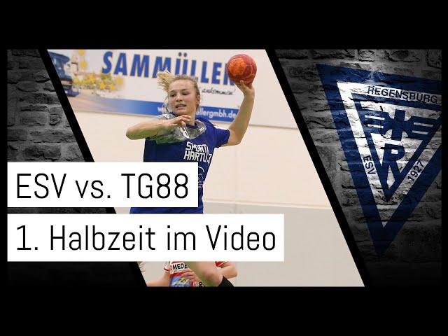Bunkerladies weiter auf Kurs - Die 1. Halbzeit ESV 1927 vs. TG88 Pforzheim