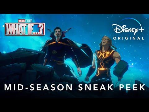 Mid-Season Sneak Peek | Marvel Studios' What If...? | Disney+