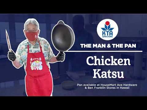 The Man & The Pan - Chicken Katsu